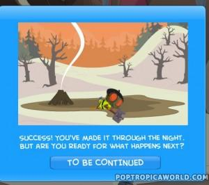 Poptropica Survival Island End